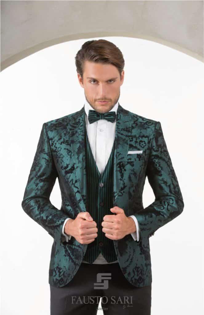 new style ac0d9 2e399 Gli abiti da sposo della collezione Fausto Sari - Fausto Sari
