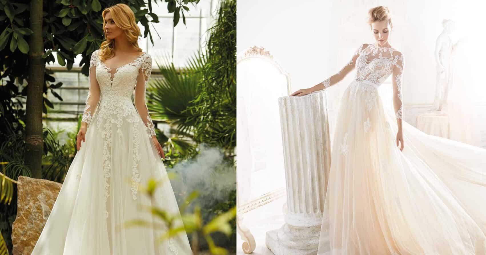 Maniche abito da sposa