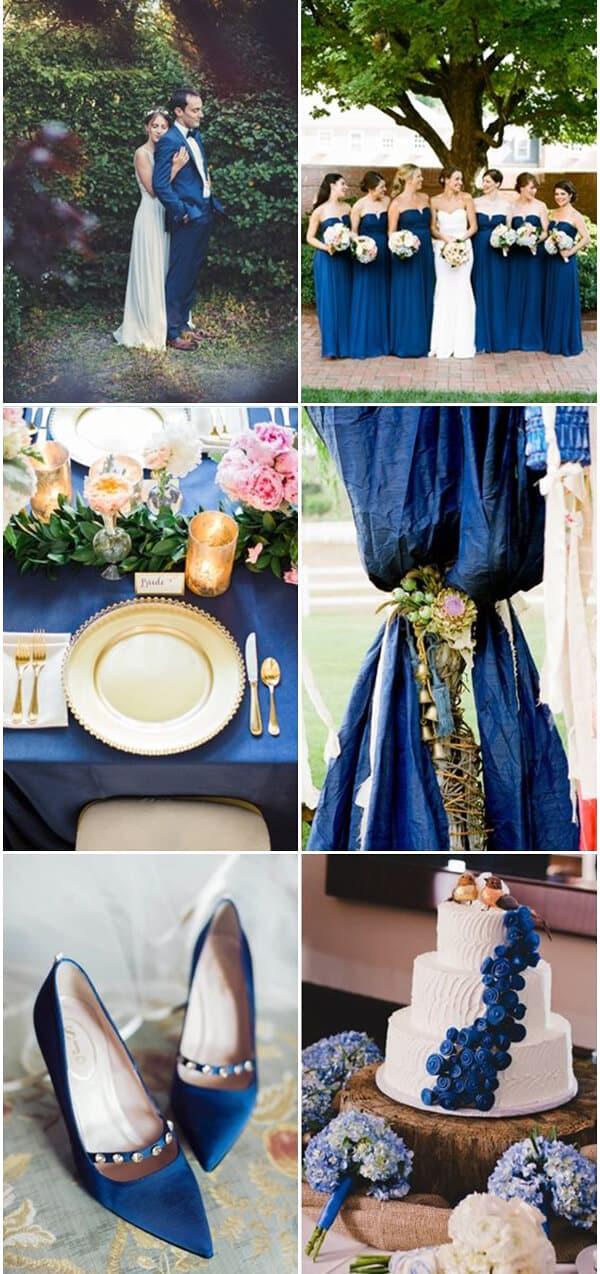 matrimonio a colori in blue