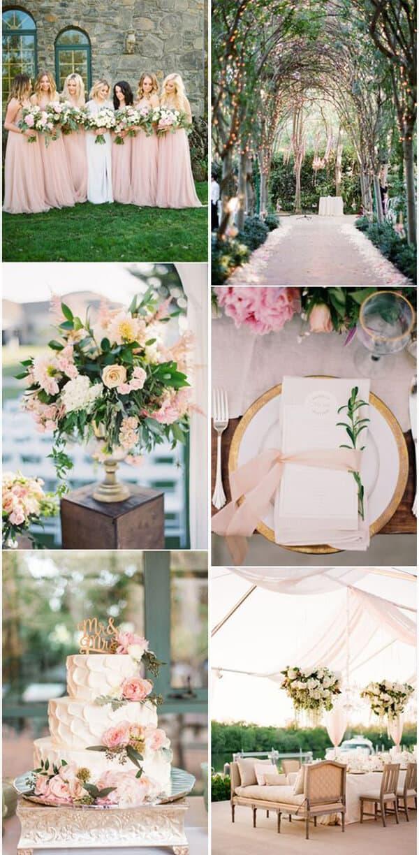 matrimonio a colori in rosa