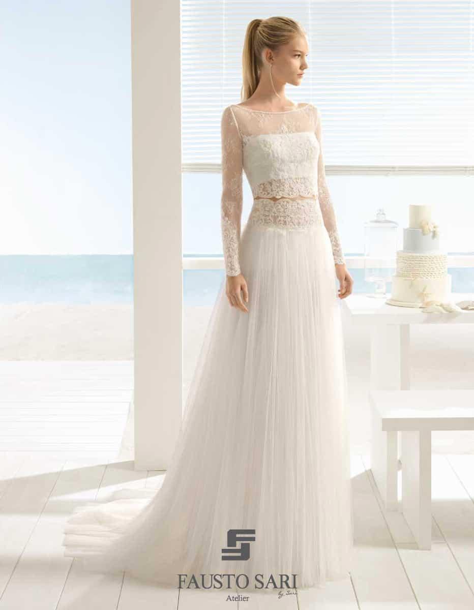abito da sposa in tulle - Aire