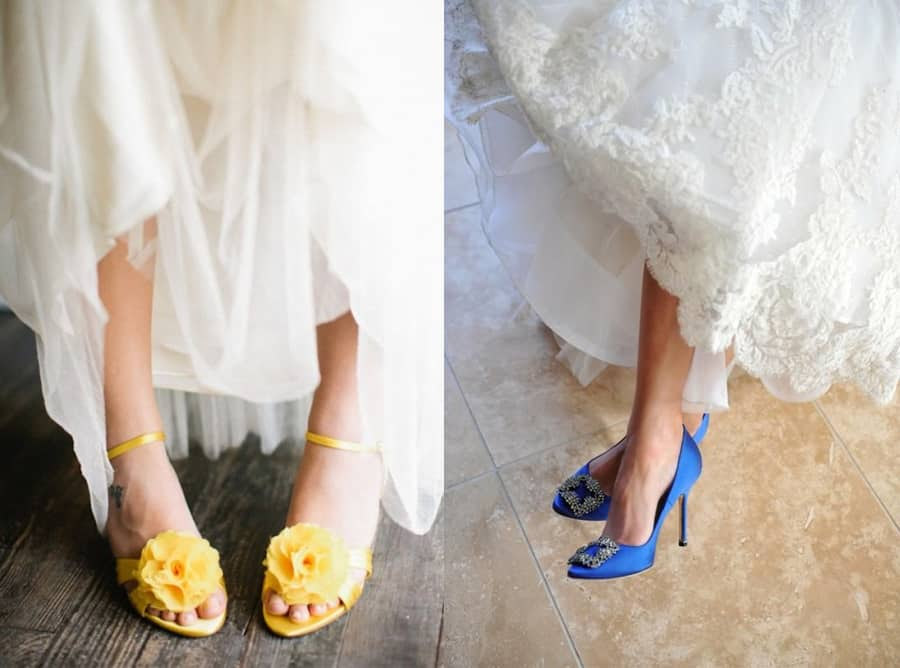 Sposa Scarpe Colorate.Scarpe Da Sposa Quali Scegliere Fausto Sari