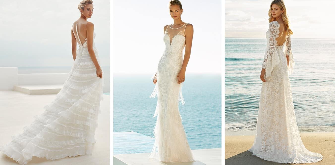 abiti sposa matrimonio al mare 2019