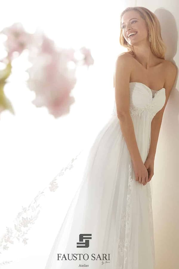 Abito sposa in dolce attesa Colet