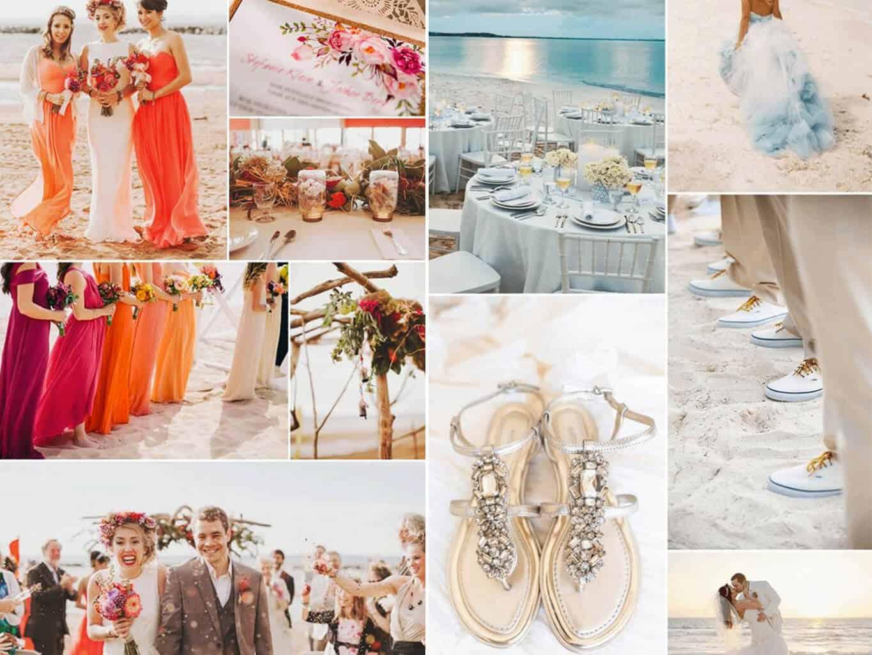 colori per matrimonio tema mare