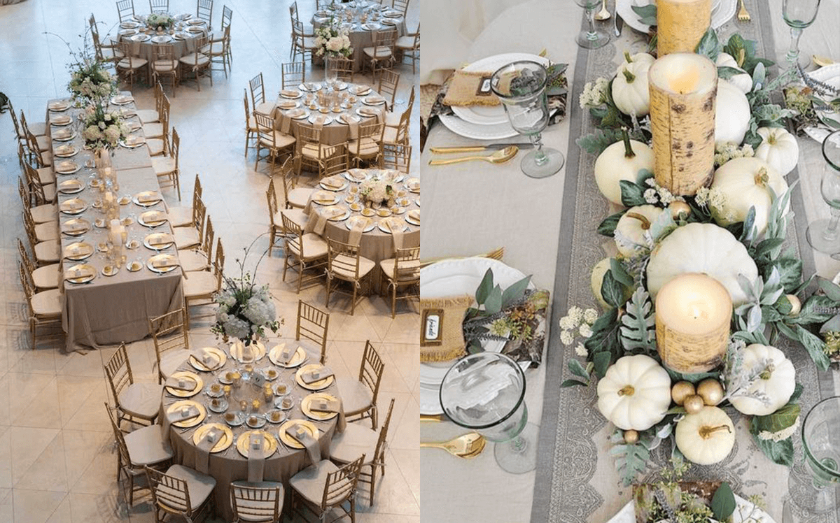 mise en place tavoli matrimonio