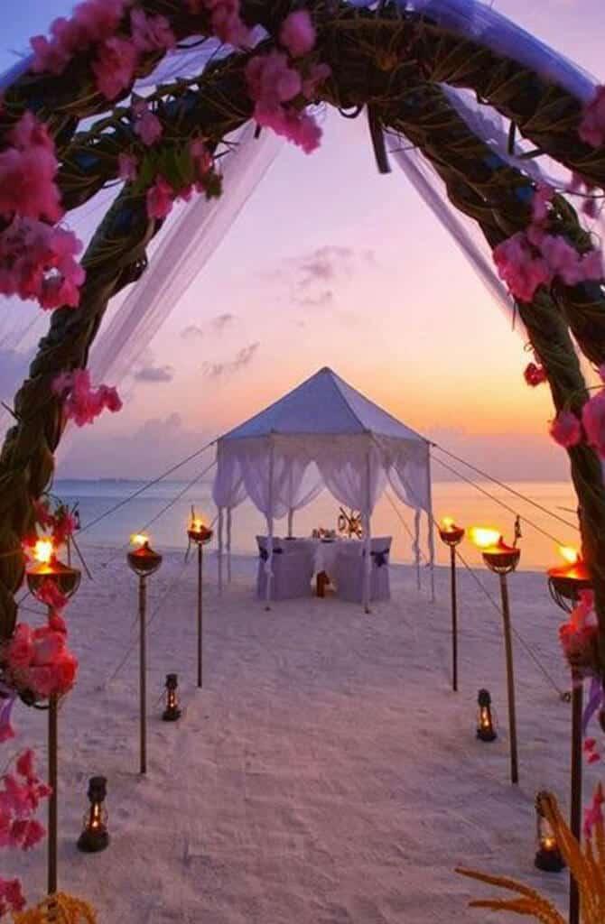 orario migliore per sposarsi in spiaggia