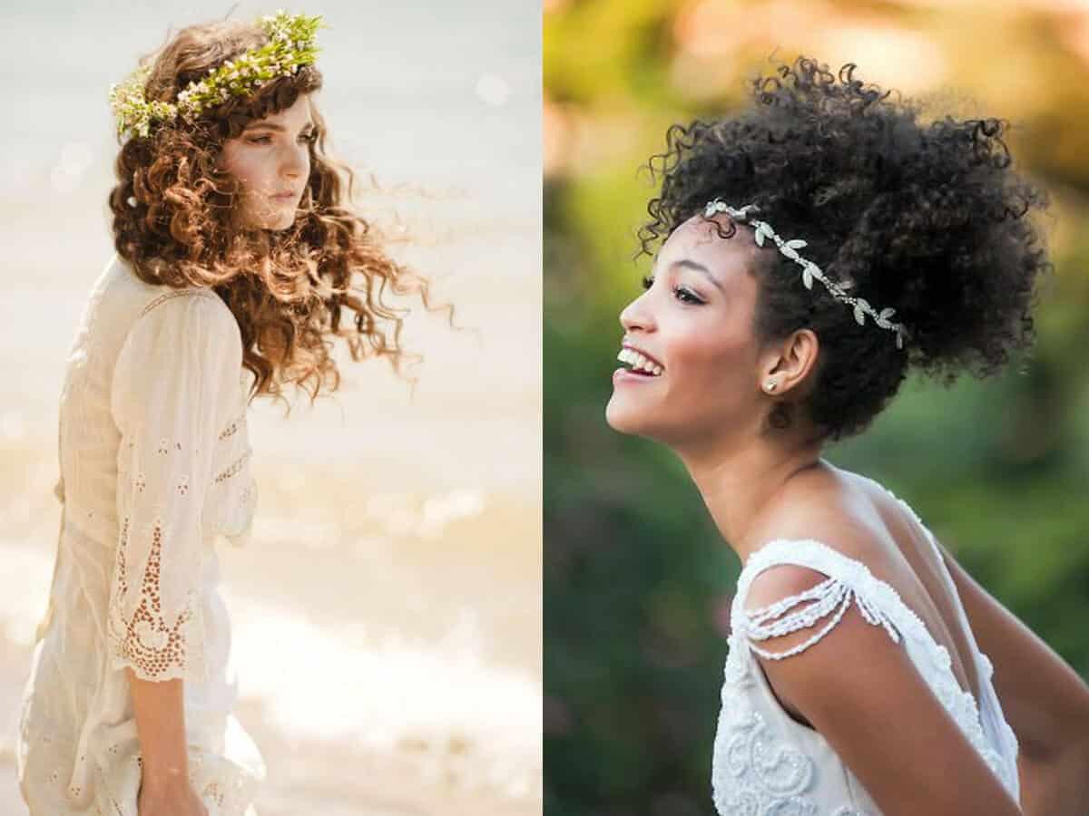 capelli ricci sposa