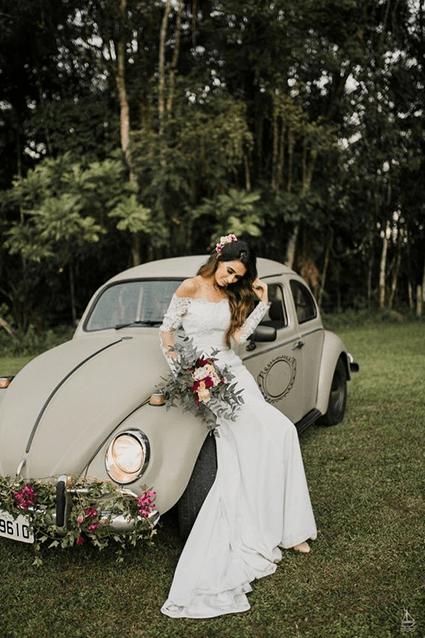 matrimonio auto epoca