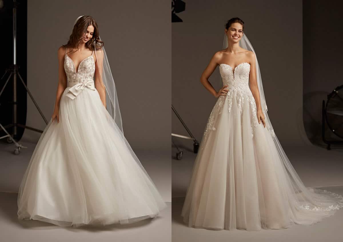 abiti da sposa collezione 2020 pronovias