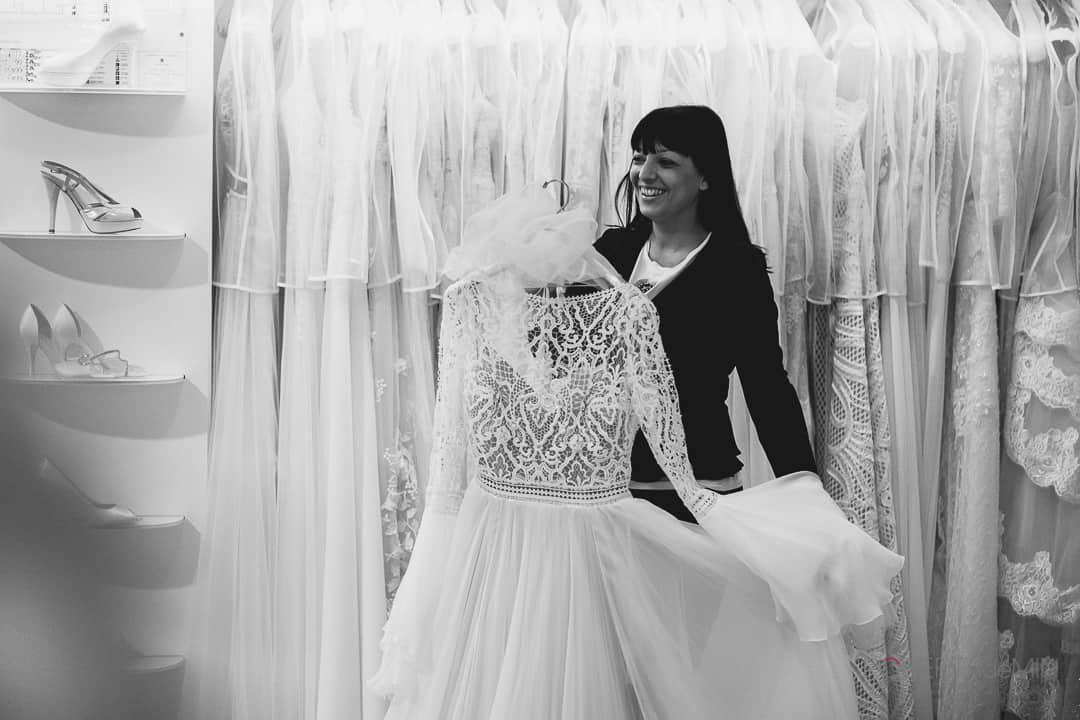 Alla ricerca dell'abito da sposa perfetto